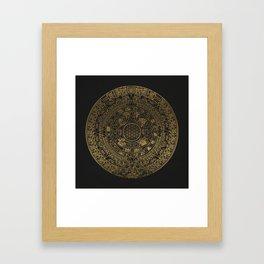 The Mayan Realization Framed Art Print
