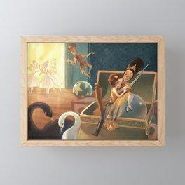 The Steadfast Tin Soldier Framed Mini Art Print