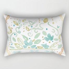 Boho floral Rectangular Pillow