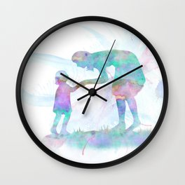 10839 Mom and Me Wall Clock