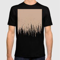 Desert Fringe Mens Fitted Tee MEDIUM Black