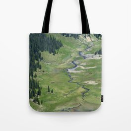 Verdant valley Tote Bag
