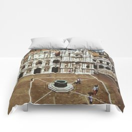 Doge's Palace Courtyard Comforters