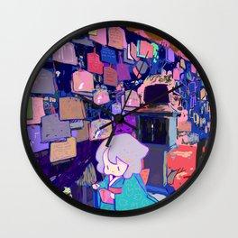 Wish Wall Clock