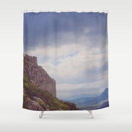 Corinthian Skies Shower Curtain