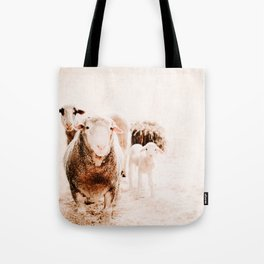 Milly's family portrait Tote Bag