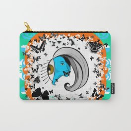 Silence of the Smurfs Carry-All Pouch