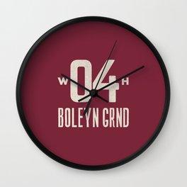 Upton Park Football Ground Wall Clock