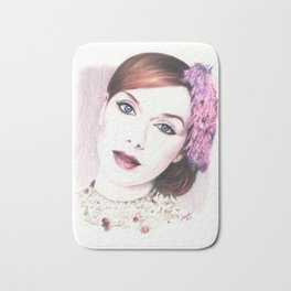 christina hendricks, beautiful vision... Bath Mat