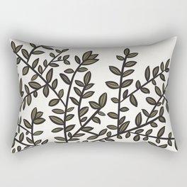 Potted Backyard Rectangular Pillow
