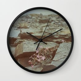 The Perseverance of Mother Nature Wall Clock