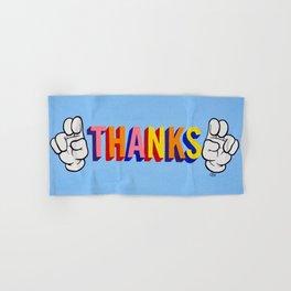 """Thanks"" Hand & Bath Towel"
