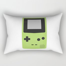 Gameboy Colour Green Rectangular Pillow