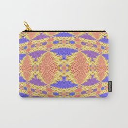 Autumn Micro Fractal Geometric Carry-All Pouch