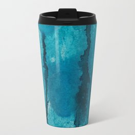 Blue cloudy spheres Travel Mug