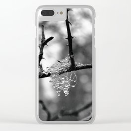 Microcosm Clear iPhone Case