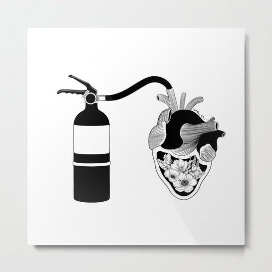 Good Heart, Bad Temper Metal Print