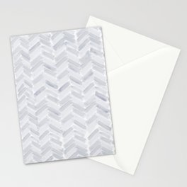 Slate Chevron Stationery Cards