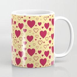 Valentines Mini Hearts Pattern 011#001 Coffee Mug