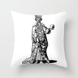 Old king Throw Pillow