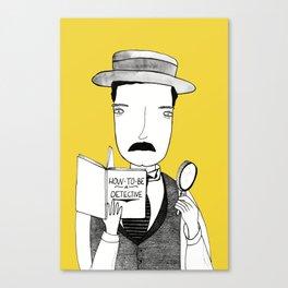 Sherlock Jr. Canvas Print