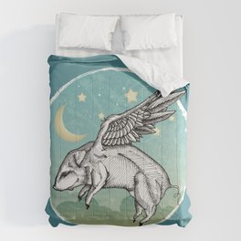 Pigs Fly Comforters