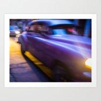 Havana Beat Art Print
