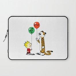 Calvin And Hobbes Ballons Laptop Sleeve