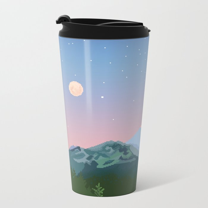 Tahoma Metal Travel Mug