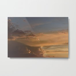 Cloud Speed Metal Print