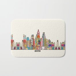 Austin texas Bath Mat