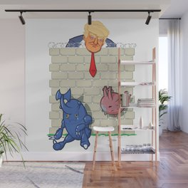 Donald Trump's Wall Wall Mural