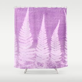 Fern leaves #3 Shower Curtain