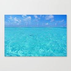 Moorea Water Canvas Print