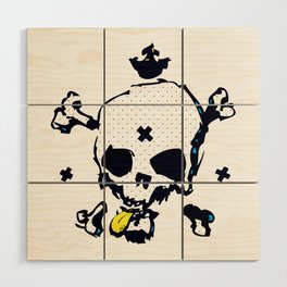 XXX Skull C Wood Wall Art