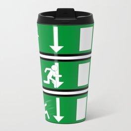 Fire Exit Funny. Travel Mug