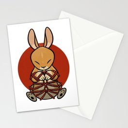 Rope Bunny Stationery Cards