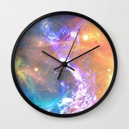 Between sun and sea Wall Clock