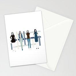Fashionary - Blues Stationery Cards