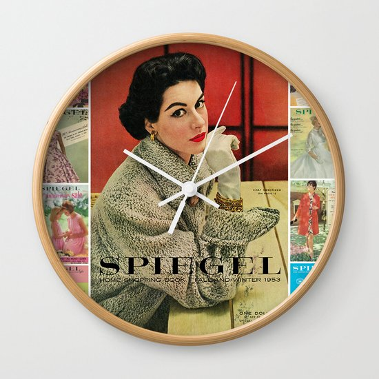1953 Fall/Winter Catalog Wall Clock