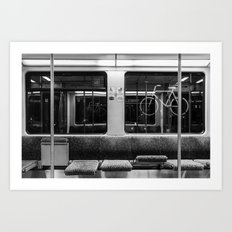 Berlin S-Bahn Art Print