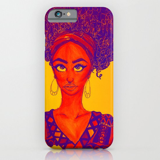 Black Queen iPhone & iPod Case
