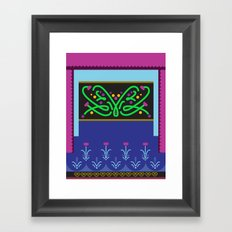 Vector Anna Framed Art Print