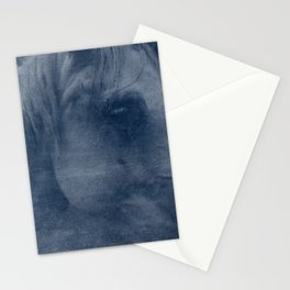 Abstract Horse No. 2 | Blue Stationery Cards