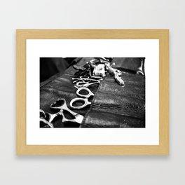 the kit Framed Art Print