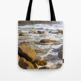 Rocky beach at Kogel Bay in South Africa Tote Bag