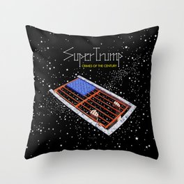 SuperTrump - Crimes of the century Throw Pillow