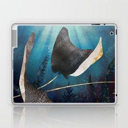 Metallic Stingray Laptop & iPad Skin
