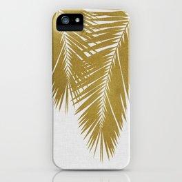 Palm Leaf Gold II iPhone Case