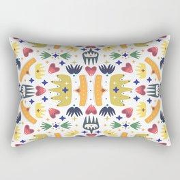 Crown Folk Rectangular Pillow